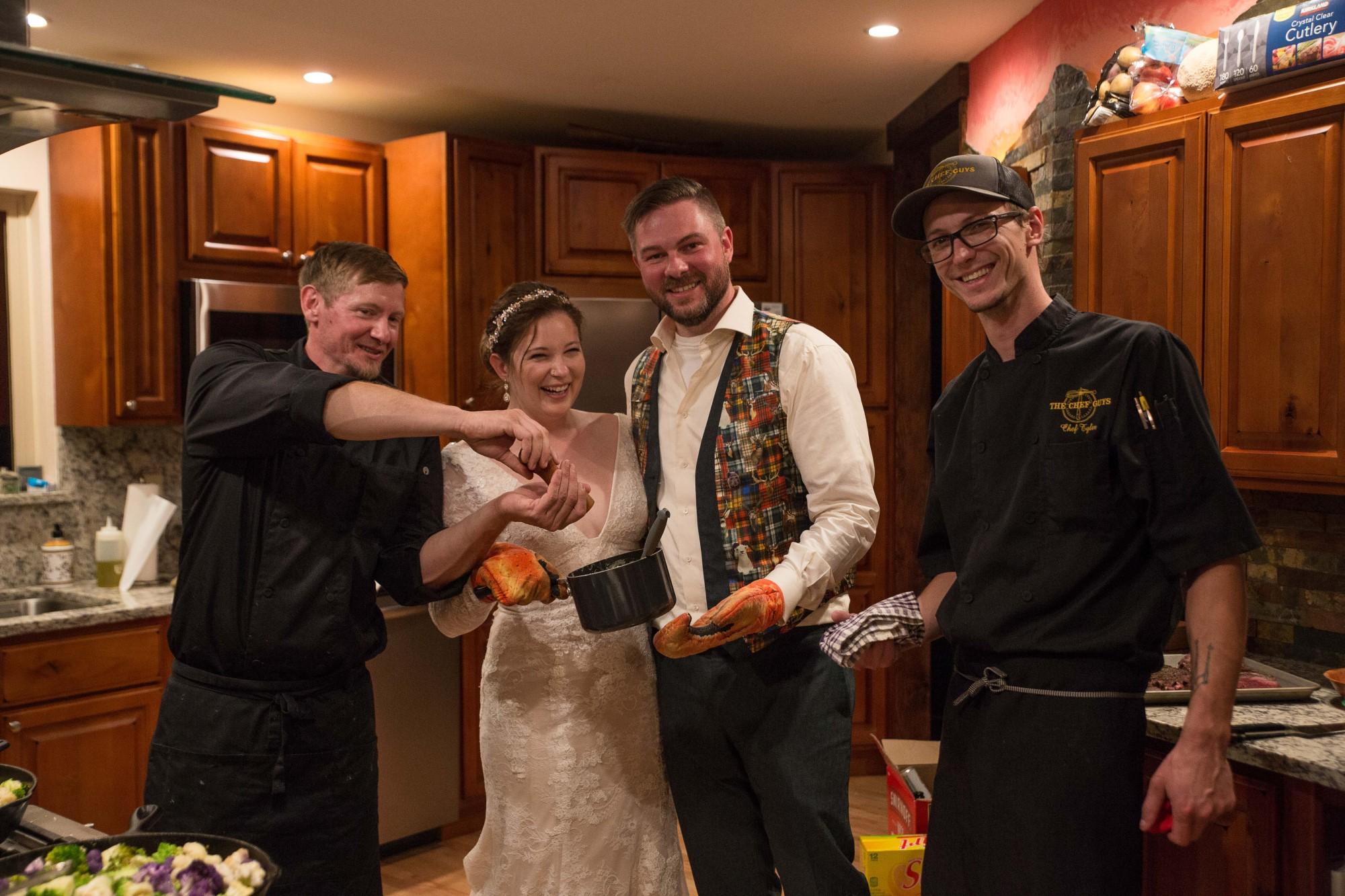 Chef Guys Wedding Caterer