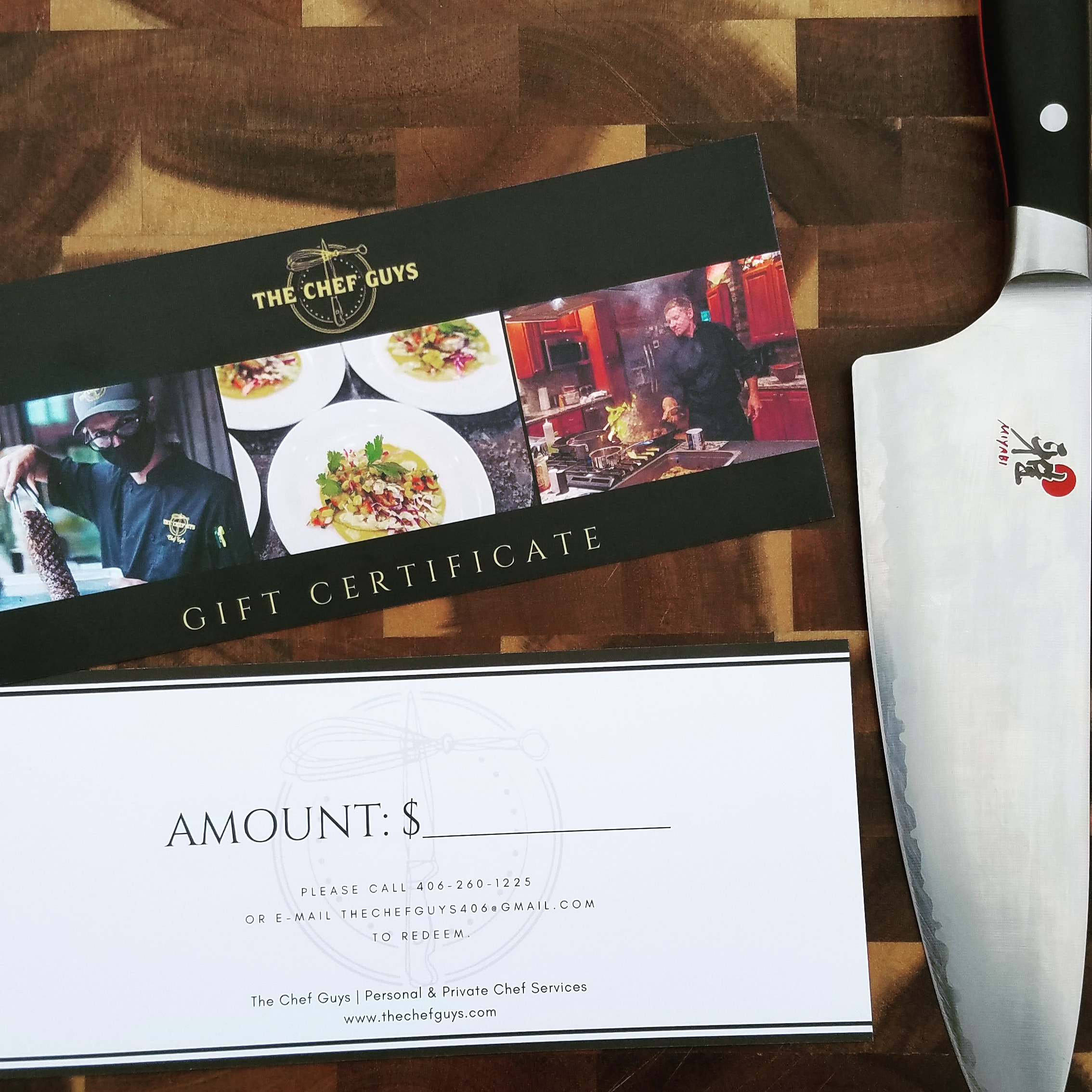 The Chef Guys Catering Gift Certificate